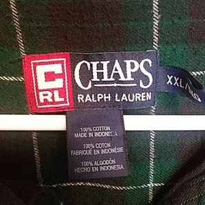 Chaps Shirts - 🎂 Chaps Ralph Lauren polo flannel shirt